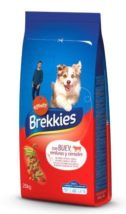 Brekkies Dog Mix Buey 20 KG