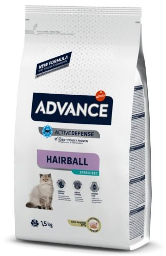 pienso-para-gatos-esterilizados-advance-sterelized-hairball 1,5kg